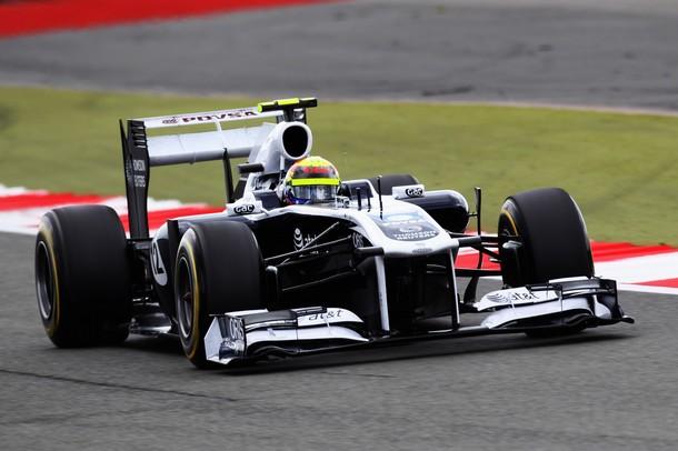 Pastor Maldonado no tuvo una buena carrera y perdió siete puestos.