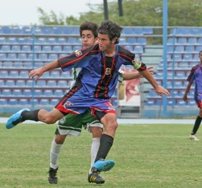 Diego Meleán es uno de los juveniles del Zulia FC en la selección regional.