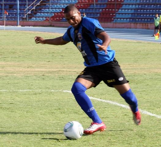 Edgar Rito es uno de los delanteros del Zulia FC.