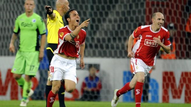 Luis Manuel Seijas abrió la cuenta para su equipo.