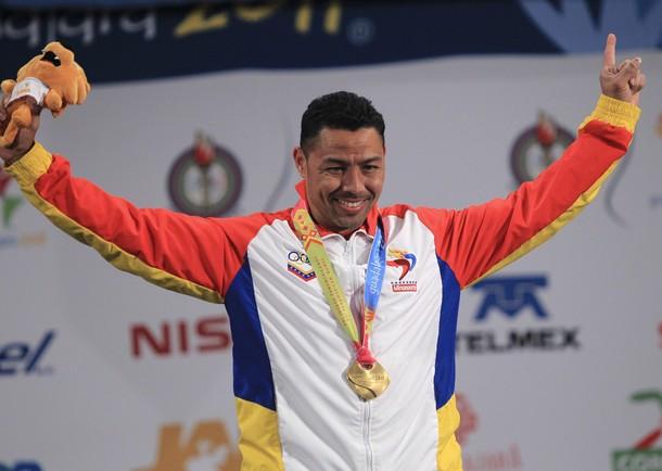 Israel Rubio viene de ganar la medalla de oro en los Panamericanos.