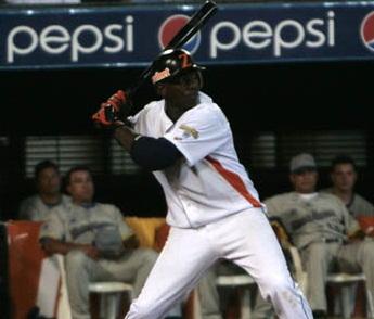 José Pirela ya está practicando con las Águilas.