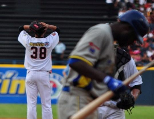 El pitcheo de Águilas fue masacrado por el Magallanes.