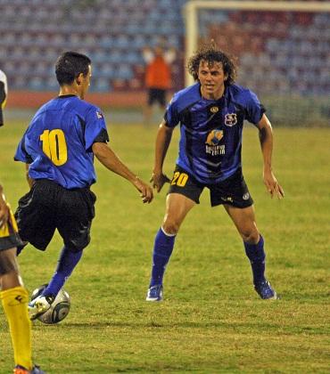 Raúl Vallona es fundamental es el esquema del Zulia FC.