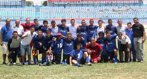 Zulia se ganó el cupo en el fútbol de campo después de 20 años.