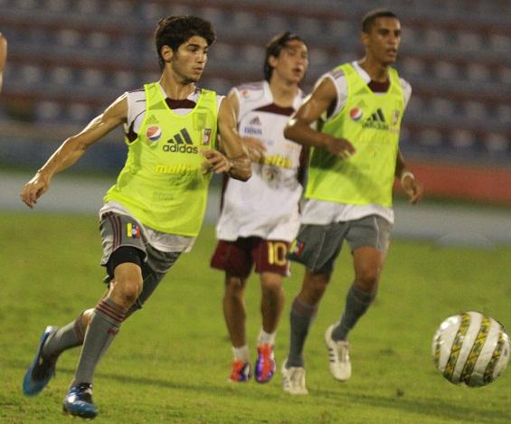 Diego Meleán recibió el segundo llamado a la vinotinto juvenil.