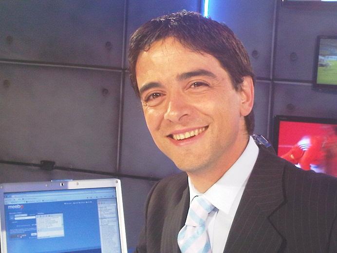 El periodista argentino Juan José Buscalia fue invitado por la Secretaría de Deportes.