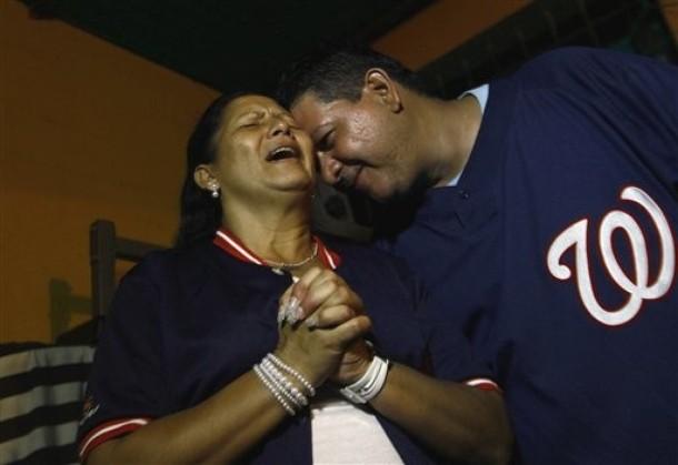 La familia de Wilson Ramos vivió momentos de angustia.