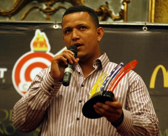 Miguel Cabrera ha sido ganador del premio Atleta del Año por parte del Círculo de Periodistas Deportivos.