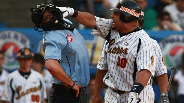 Al jugador de los Leones lo sancionaron por agredir a un árbitro. Foto: Líder