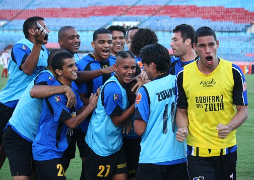 Zulia FC fue de los más celebró en el Apertura.