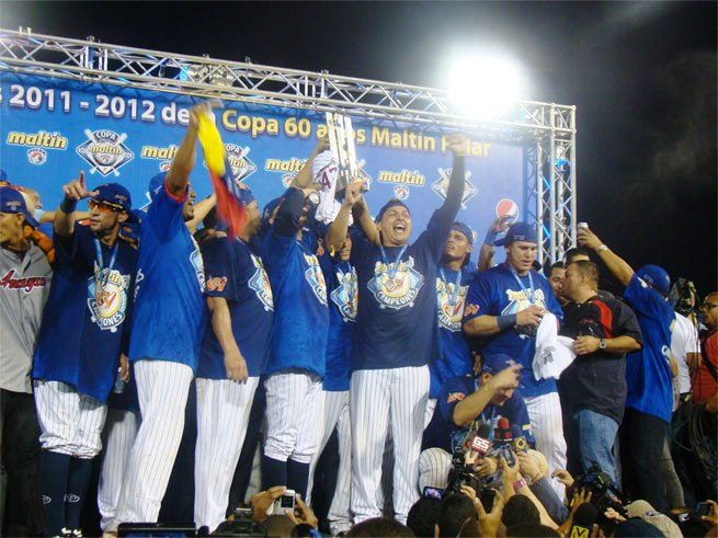 Tigres tratará de empatar la máxima cantidad de trofeos del Caribe conseguidos por equipo venezolano alguno. Foto: Prensa Tigres.