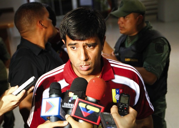 César Farías tuvo un encuentro con los medios de comunicación.