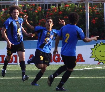El juvenil Simón Briceño le dio el triunfo al Zulia con su primer tanto en Primera. Foto: Luis Turinese
