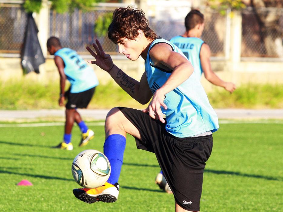 Manuel Arteaga está a prueba con el Liverpool inglés.