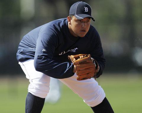 Miguel Cabrera jugará en la tercera base esta campaña.