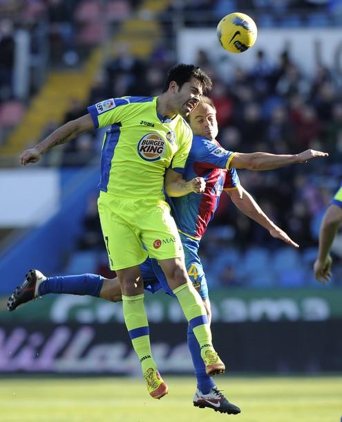 Miku Fedor sigue alejado del gol con el Getafe.