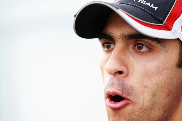 Pastor Maldonado quedó satisfecho con el rendimiento de su vehículo.