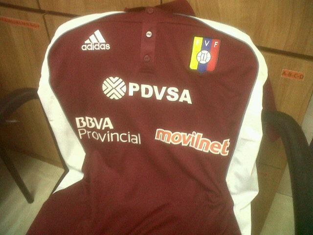 Así será la camiseta de presentación de las selecciones nacionales de fútbol.