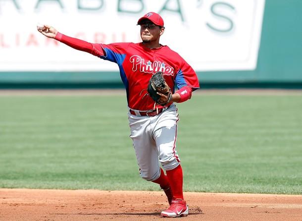 El aguilucho Freddy Galvis estará custodiando la segunda base de Filadelfia.