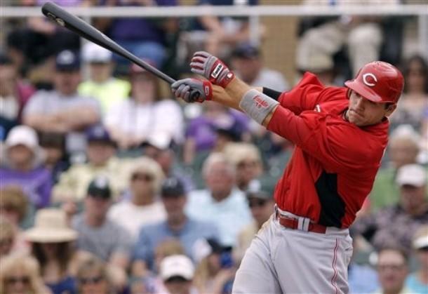 Joey Votto deberá liderar la ofensiva de los Rojos.