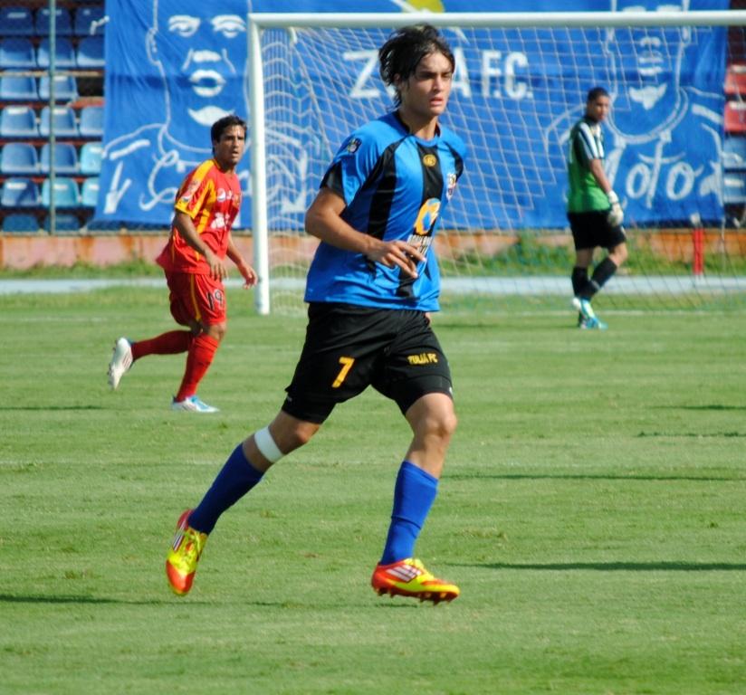 Manuel Arteaga marcó por segundo juego seguido para Zulia FC.
