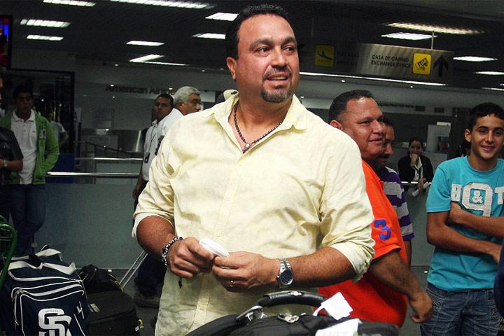 Luis Dorante llegó este lunes para asumir las riendas de Zulia. Foto: Luis Bravo/Panorama