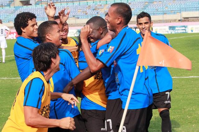 El cuadro zuliano celebró su cuarto triunfo como local en el Apertura. Foto: Carlos Sosa.