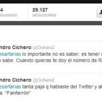 Farías se activó en Twitter y lo revolucionó (imágenes)