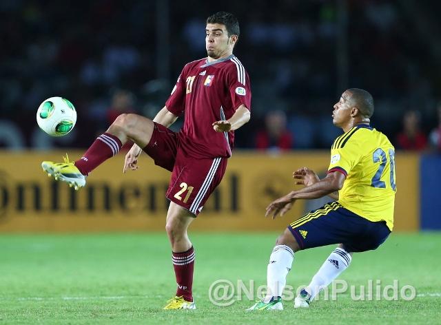 Alexander González fue clave en el gran partido que hizo Venezuela. Foto: Nelson Pulido