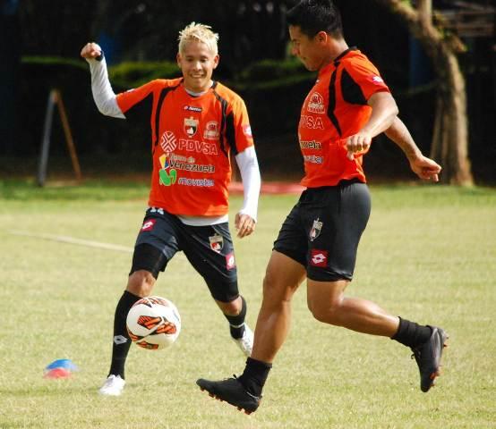 El club larense se enfrentará al Liga de Loja. Foto: Prensa CD Lara.