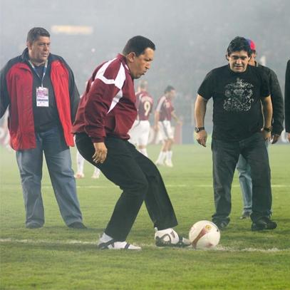 En el 2007 inauguró la Copa América en Venezuela.