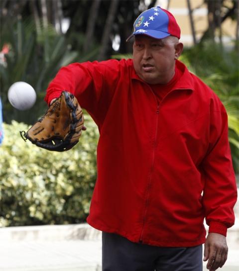 Hugo Chávez siempre tuvo al deporte presente en todo momento.