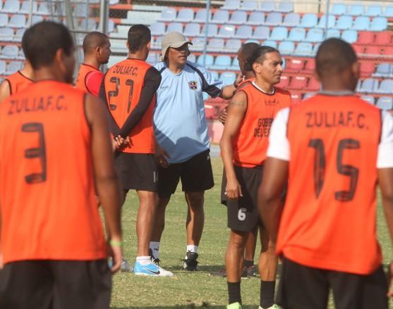 Zulia FC, dirigido por Alex de Alba, comenzó a preparar su próximo partido. Foto: Panorama