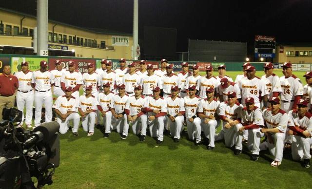 Aquí está el equipo de Venezuela posando para la fotografía oficial. Foto: César Márquez.