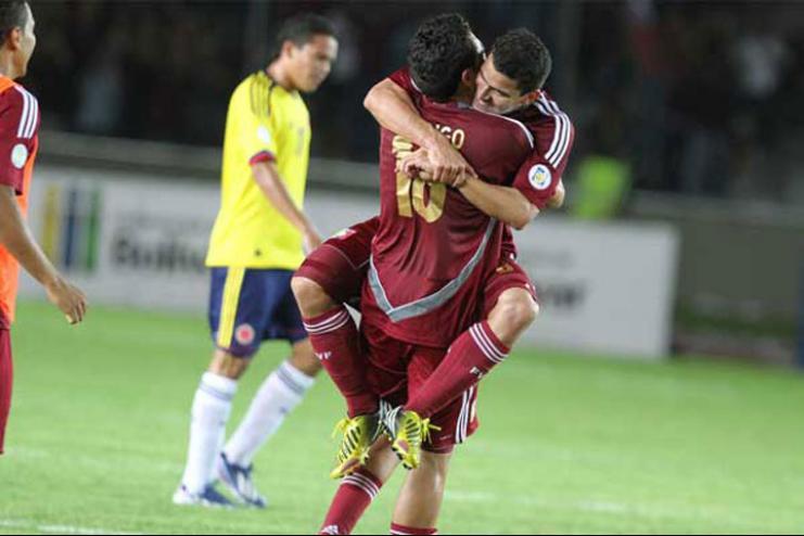 La vinotinto venció en su último partido a Colombia.