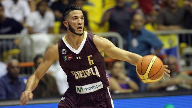 Greivis Vásquez es la máxima figura de la selección de Venezuela.
