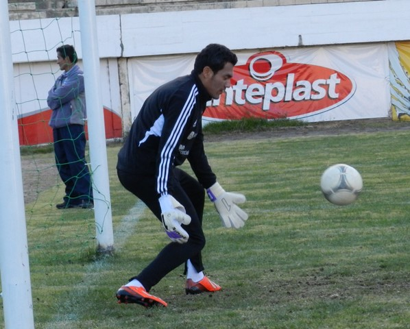 Juan Arango durante unas de las prácticas en La Paz.