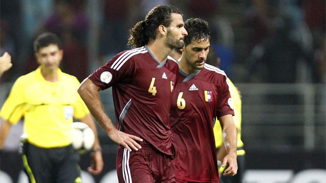 Vizcarrondo estaría para el partido ante Uruguay.