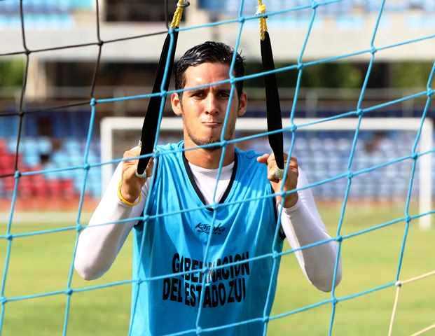 Dustin Valdez regresó al Zulia FC como capitán.