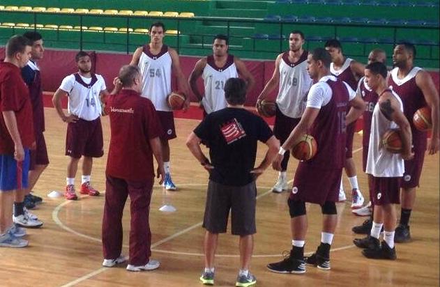 La selección nacional de baloncesto comienza sus trabajos de preparación,