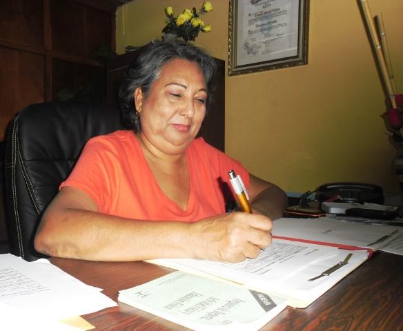 Luzmila Vielma, Consultora Jurídica del Irdez, autora de la Ley del Deporte del Zulia.