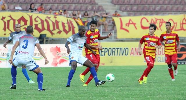 Zulia FC no pudo ante Anzoátegui en Puerto La Cruz. Foto: Cortesía