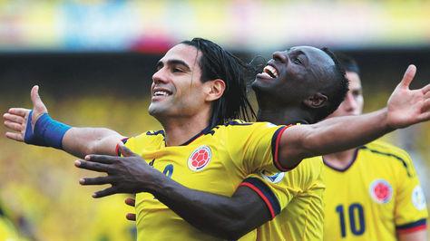 Radamel Falcao guió a Colombia a otro Mundial.
