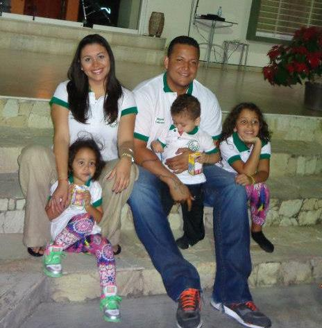 Cabrera está casado con Rosángel Polanco, desde el año 2002. Tienen tres hijos: Rosángel, Isabella y Christopher.