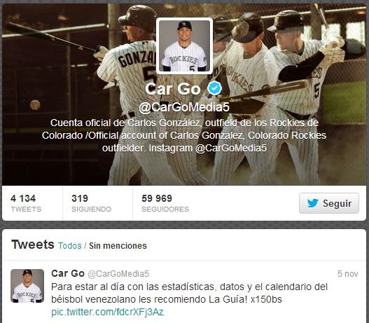 Carlos González recomendó La Guía.