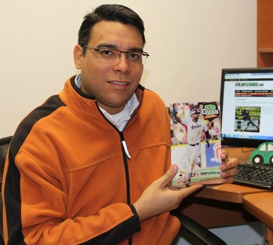 Gilberto González, Director y coordinador de La Guía 2013-2014. Foto: Elías Correa.