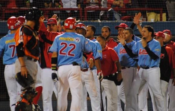 Cardenales apaleó a las Águilas. Foto: Prensa Cardenales.
