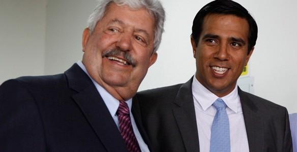 Rafael Esquivel y César Farías rompieron su lazo laboral.