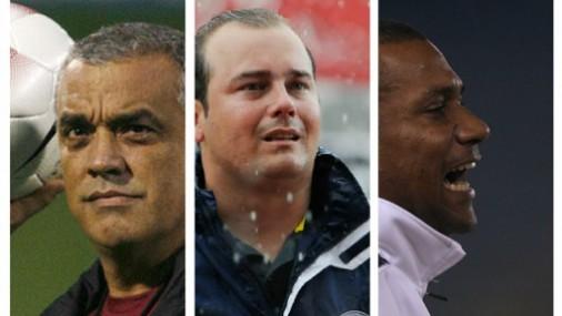Páez, Saragó y Sanvicente  son los principales candidatos criollos para dirigir a la vinotinto. Foto: Google